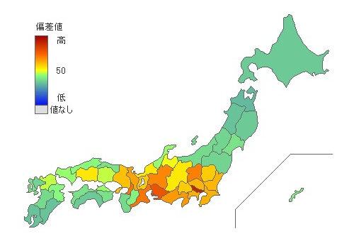 在日外国人 [ 2015年第一位 東京都 ]|都道府県別統計とランキングで見る県民性 [とどラン]