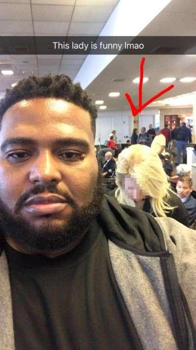 白人女性からファーストクラス搭乗を疑われた黒人男性の「切り返し」に称賛の声
