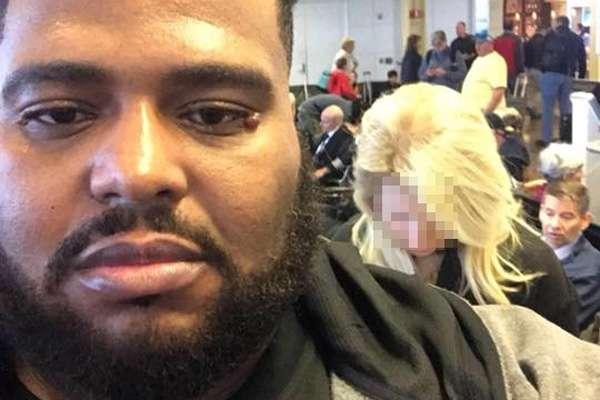 白人女性からファーストクラス搭乗を疑われた黒人男性の切り返し