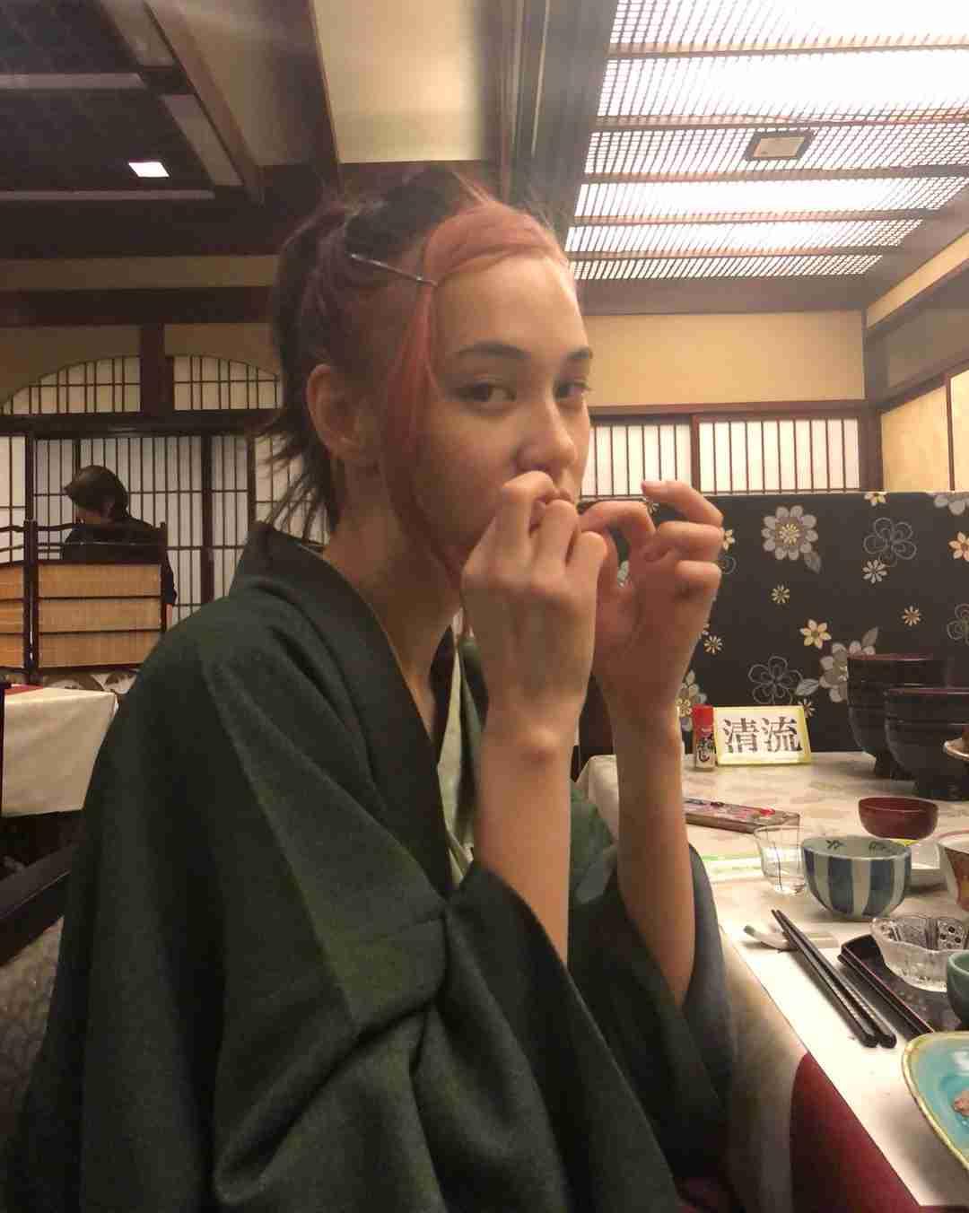 """水原希子""""ピンク髪""""に反響「オシャレ」「とっても可愛い」"""