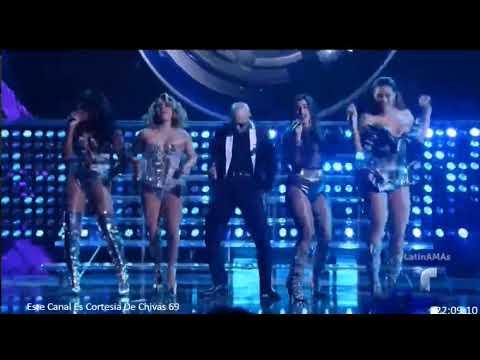 Pitbull, Fifth Harmony- Por Favor Latin AMA'S 2017 Full Performance (recorded from a stream) - YouTube