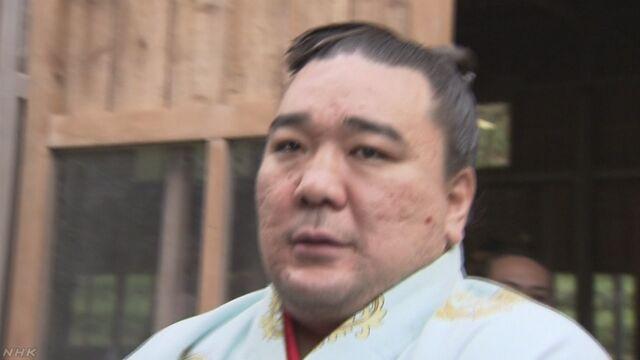 元横綱 日馬富士 傷害の疑いで書類送検 | NHKニュース