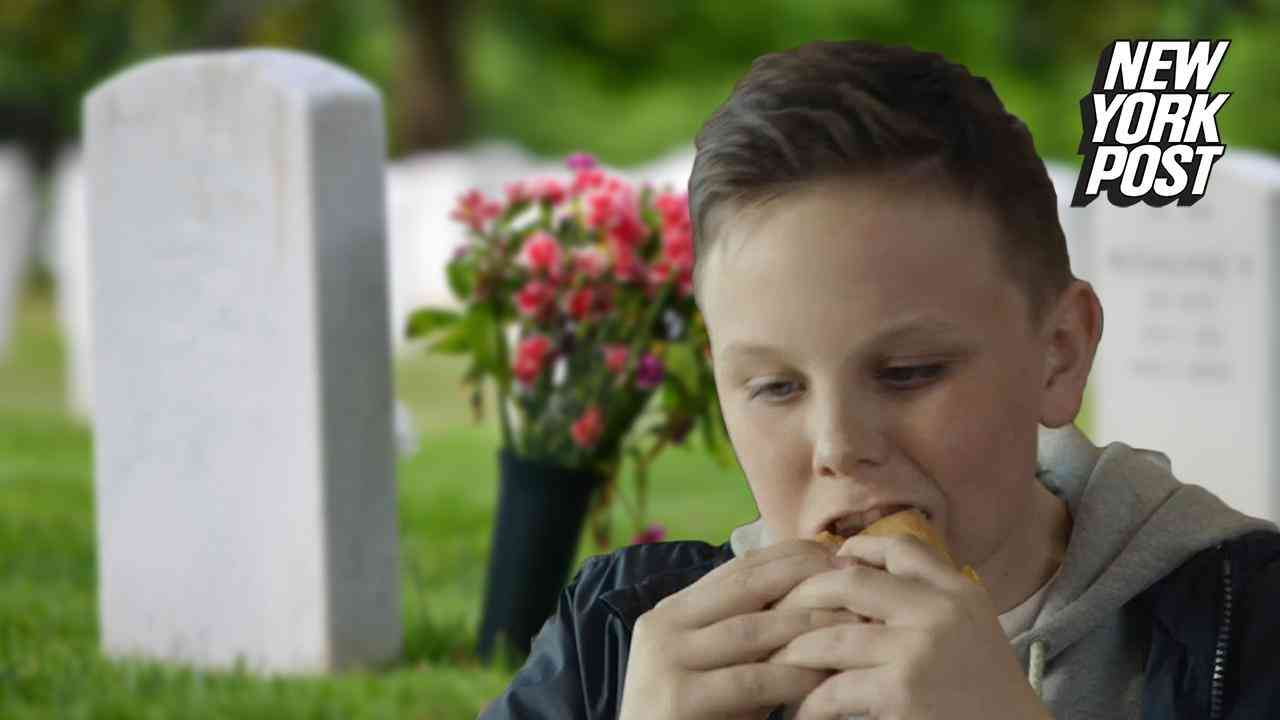 McDonald's tries to use this kid's dead dad to sell fast food | New York Post - YouTube