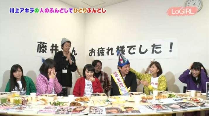 ももクロ登場『kwkmのひとりふんどし』第33回まとめ!藤井さんクイックジャパン卒業お祝いパーティー開催! : ももクロ侍