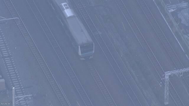 JR京浜東北線で架線断線 3路線で運転見合わせ続く | NHKニュース