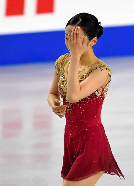 本田真凜、涙…「描いていたスケート人生と今日で変わっていく」