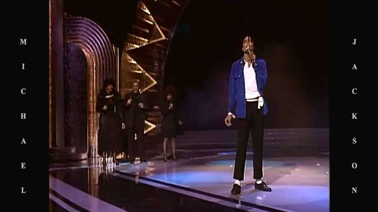 Michael Jackson - Man In The Mirror @ Grammy LIVE HD - YouTube