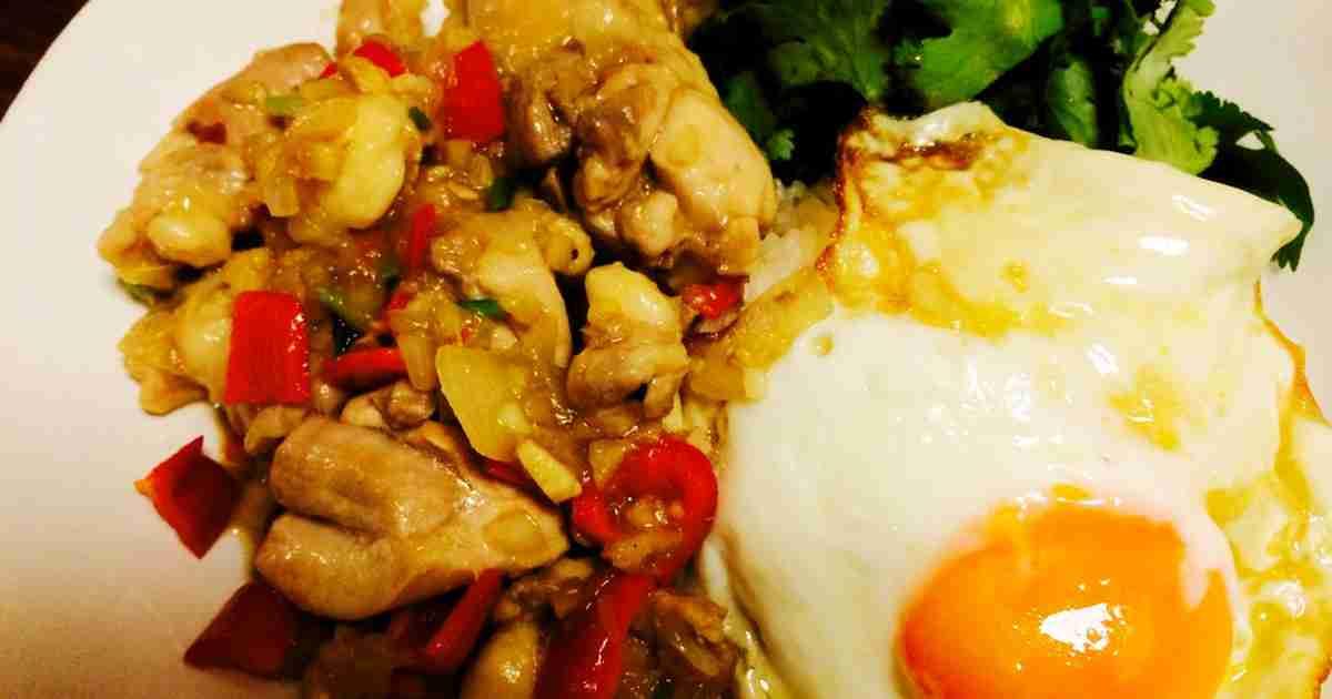 鶏もも肉とパクチーのガパオライス by ゾネキチ 【クックパッド】 簡単おいしいみんなのレシピが279万品