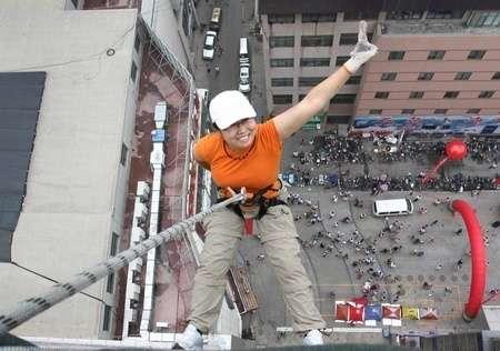 中国エクストリームスポーツ「第一人者」、挑戦中にビルから転落死 (CNS(China News Service)) - Yahoo!ニュース