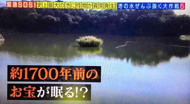 箸墓古墳隣接の「池の水抜く」放送中止 地元が協力断る