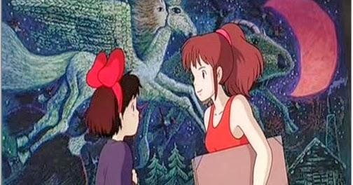 空中庭園と幻の飛行船: 『魔女の宅急便』 ウルスラの描いたキキの絵は○○風だった!