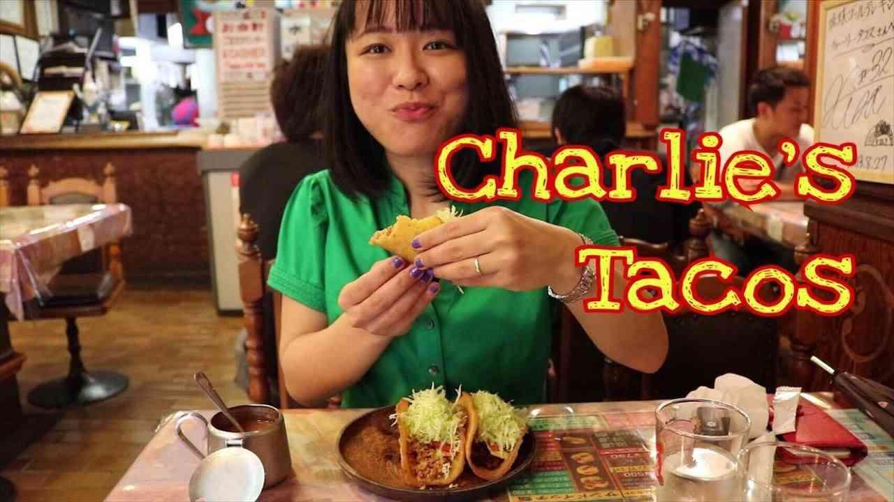 Popular Tacos in Okinawa | Charlie's Tacos Okinawa | Chuo Park Avenue 和訳付き チャーリータコス(多幸寿)@沖縄 - YouTube