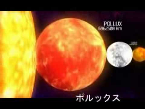星の大きさ(Jupiter) - YouTube