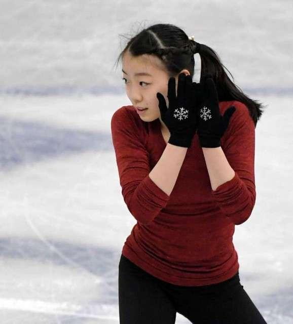 紀平梨花が公式練習で3Aー3T成功 フリーでISU公認大会史上初成功に期待(デイリースポーツ) - goo ニュース