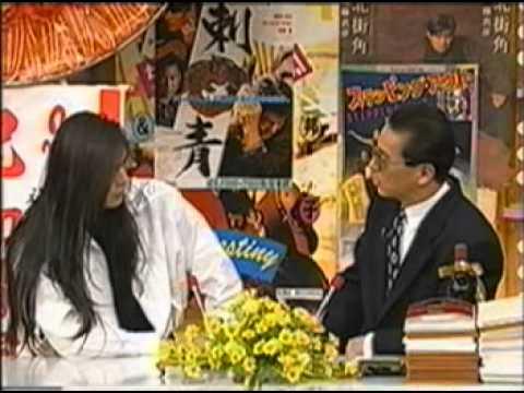 TV 【BUCK TICK】   櫻井敦司 笑っていいとも 次はX Hideを紹介 - YouTube