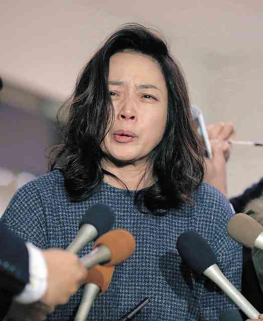 藤吉久美子が号泣、不倫否定 太川陽介がいないと「生きていけない」 : スポーツ報知