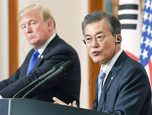 米WSJ紙、文大統領を激烈批判「信頼できる友人ではない」 韓国メディアは狂乱状態 (1/2ページ) - zakzak
