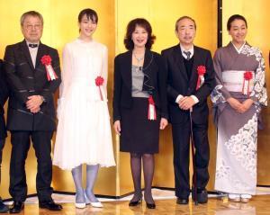 のん、菊池寛賞に笑顔「みんながチームでもらった賞」