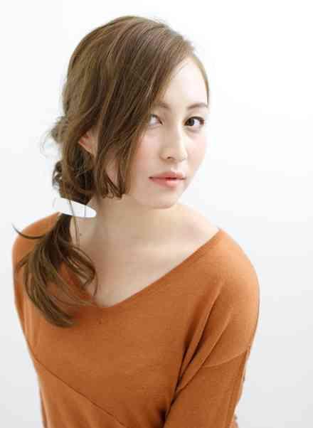 長い前髪のアレンジ