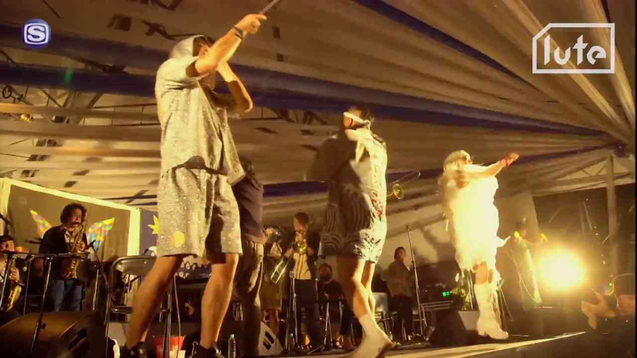 渋さ知らズオーケストラ feat. GOMA, 辻コースケ - LIVE @ 頂 -ITADAKI- 2017 - YouTube