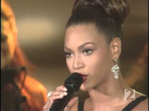 Beyoncé - Listen (live at Oprah) 2006 - YouTube