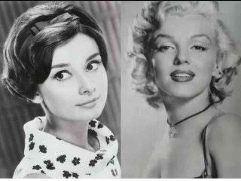 マリリン・モンローとオードリー・ヘップバーン