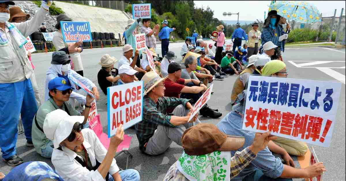 特集・沖縄米軍と事件:朝日新聞デジタル
