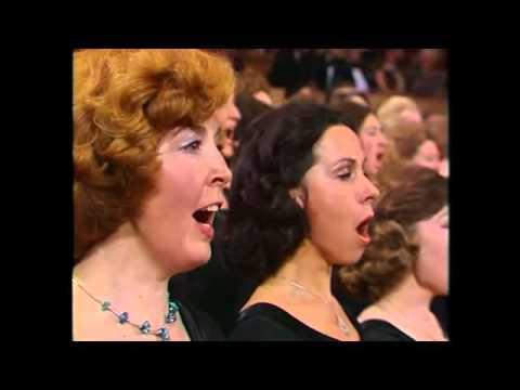 カラヤン ベートーヴェン《歓喜の歌》 1977 - YouTube