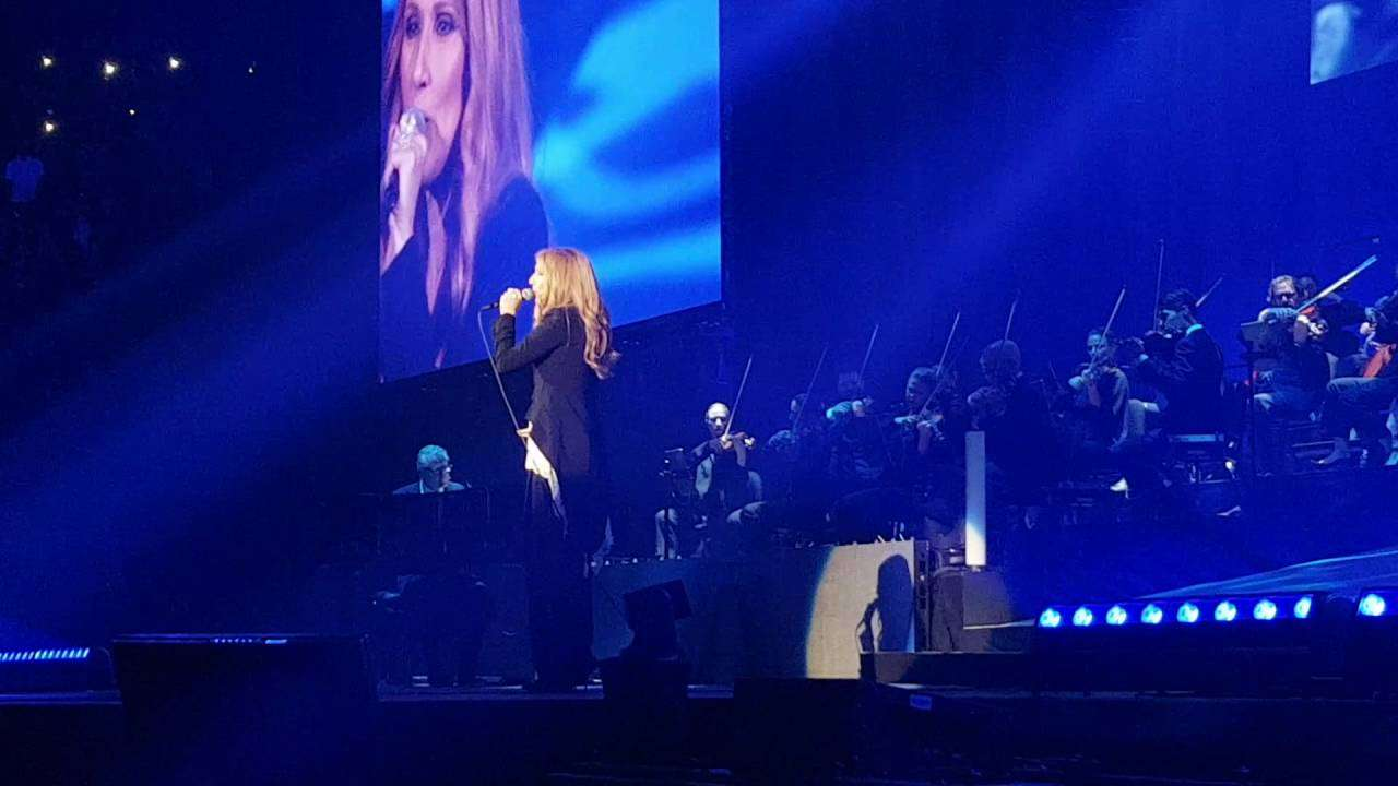 """Celine Dion """"my heart will go on """" live in Paris AccorHotels Arena June 29th 2016 - YouTube"""