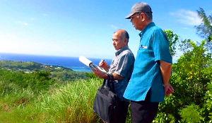 沖縄の翁長知事がグアム訪問 基地内に立ち入り拒否され展望台から基地を視察 | 保守速報