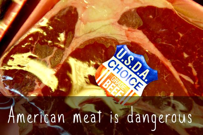 米国肉は大変危険|あなたの寿命を縮める3つの事実