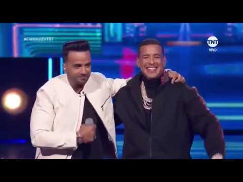 Luis Fonsi, Daddy Yankee - Despacito (2018 Grammy Awards Live Performance) - YouTube