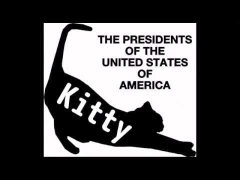 すべての猫好きへ贈る♪ THE PRESIDENTS OF THE USA - Kitty  ~ 日本語歌詞付き ~ - YouTube