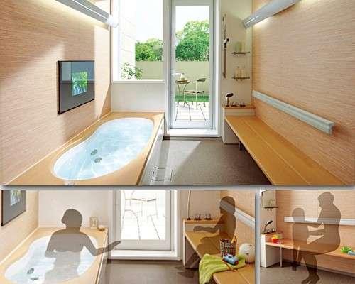 お風呂の設備、収納について!