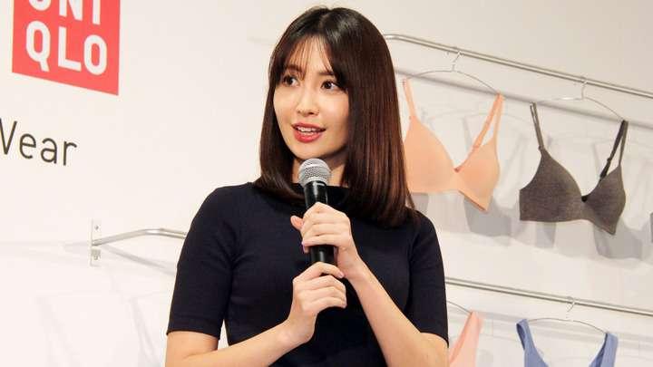 小嶋陽菜:ユニクロワイヤレスブラのCMキャラクターに 「開放された気分」
