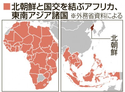 北朝鮮資金源の断絶へ途上国支援 | ORICON NEWS
