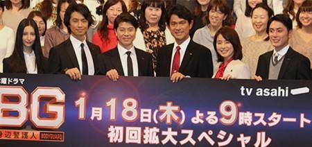木村拓哉主演「BG」好発進15・7% 今クール民放連ドラ初回暫定トップ