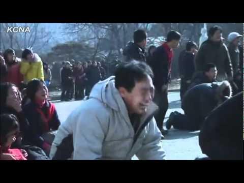 【金正日】突然の死に号泣する北朝鮮人民【CLANNAD】 - YouTube