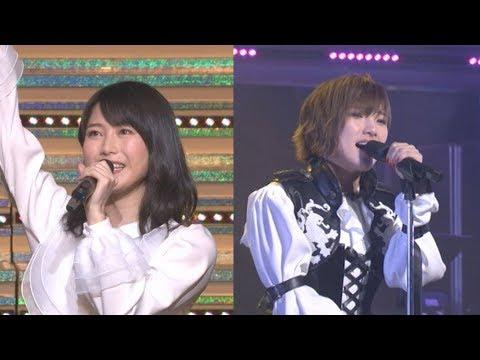岡田奈々、横山由依が初のソロコンサートで熱唱 - YouTube