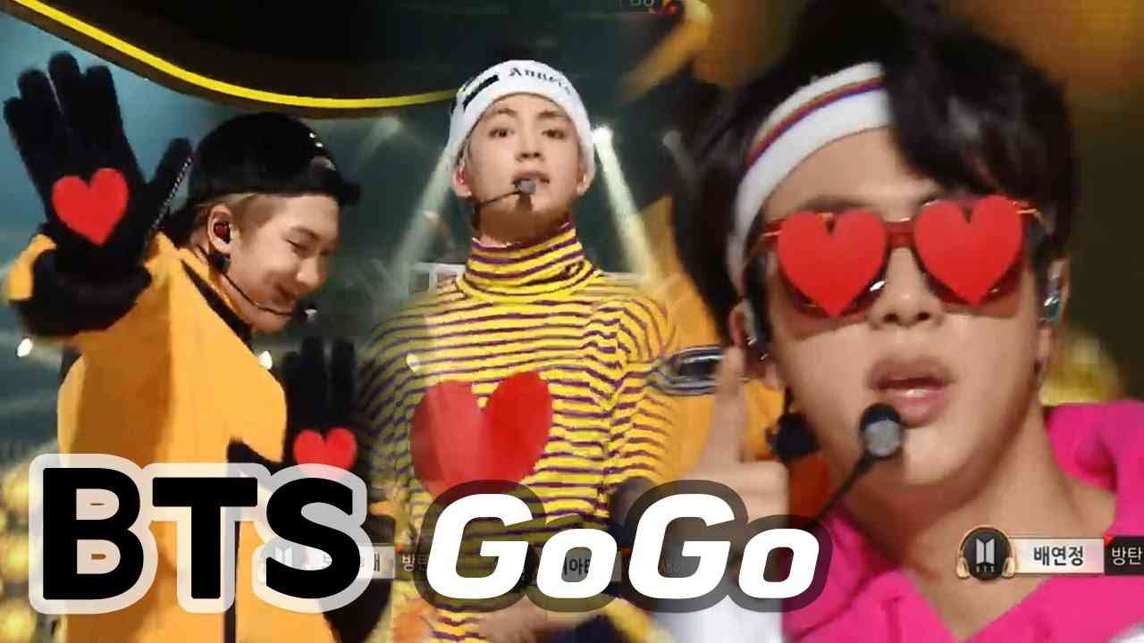 BTS - GOGO, 방탄소년단 - 고민보다 GO (Heart Perfomance for ARMY♥_♥) @2017 MBC Music Festival - YouTube
