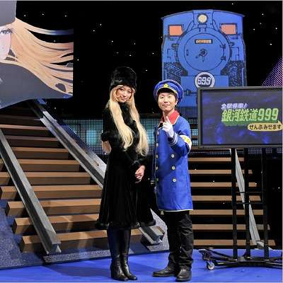 鉄郎&メーテルのビジュアル初公開!主題歌は中川晃教×坪田文の共作