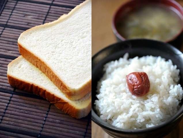 朝食は白米派?パン派?