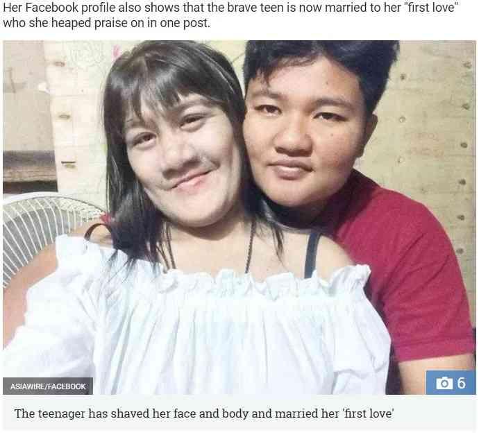 【海外発!Breaking News】世界で最も毛深い少女、17歳になり結婚して幸せに(タイ) | Techinsight(テックインサイト)|海外セレブ、国内エンタメのオンリーワンをお届けするニュースサイト
