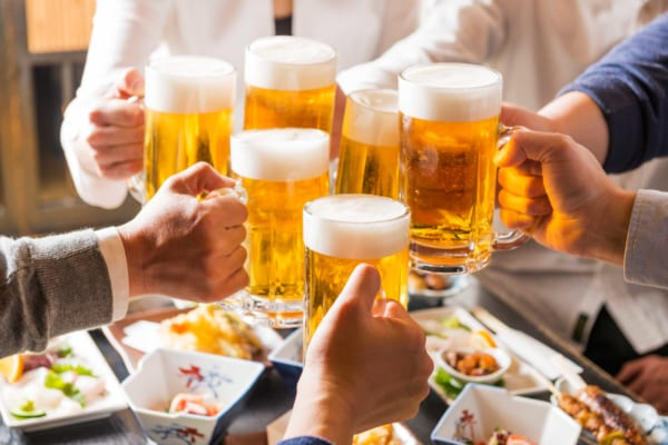 ダイエット中の飲み会で気をつけること