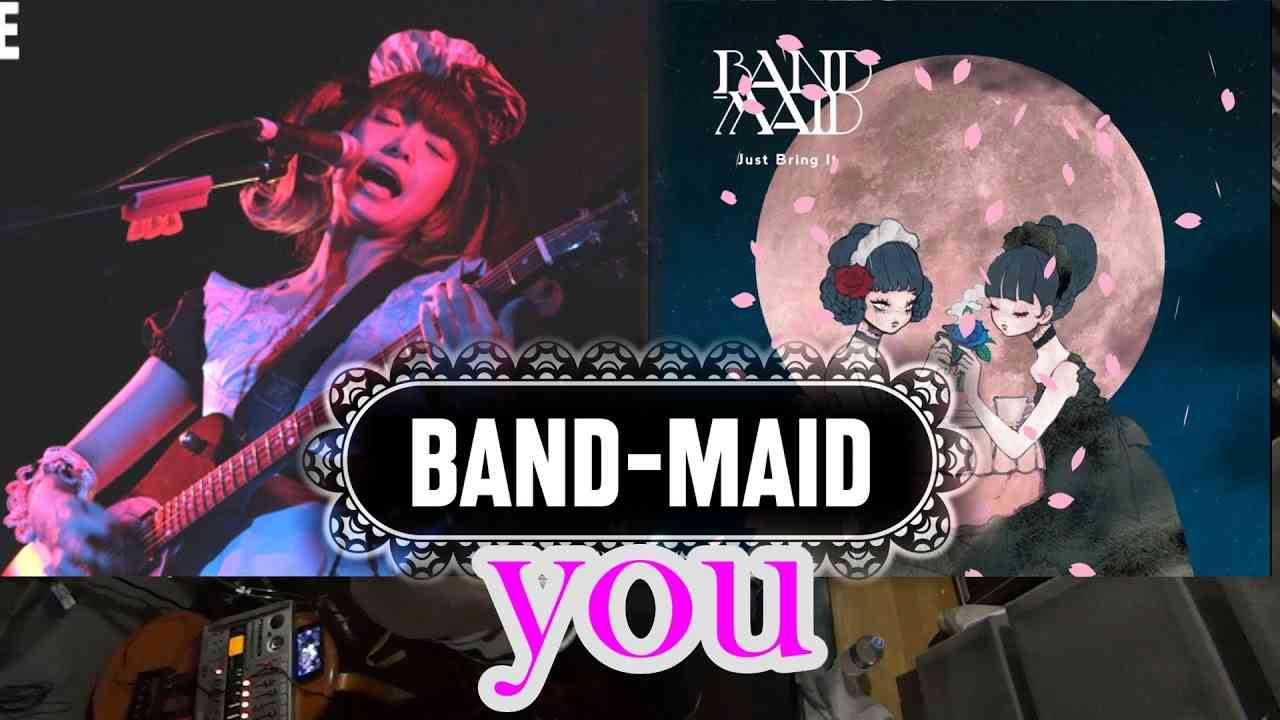 BAND-MAID / you. / Drum Cover - YouTube