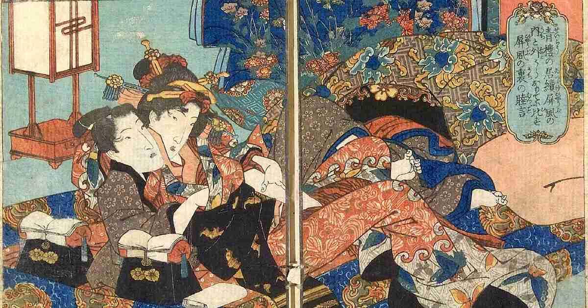 梅毒に感染も。江戸時代における遊女の一生が過酷すぎる【画像あり】 – 江戸ガイド