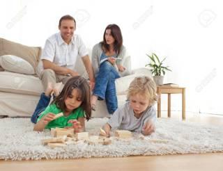 子供がいる家庭の床事情