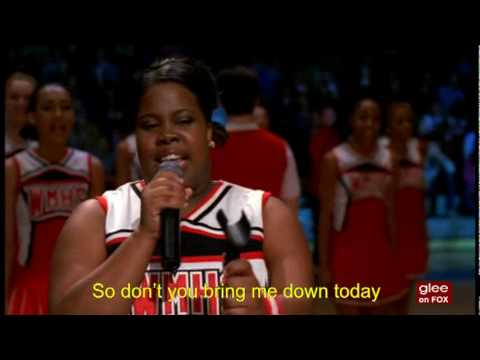 "Glee: ""Beautiful"" (Don't You Bring Me Down Today) - YouTube"