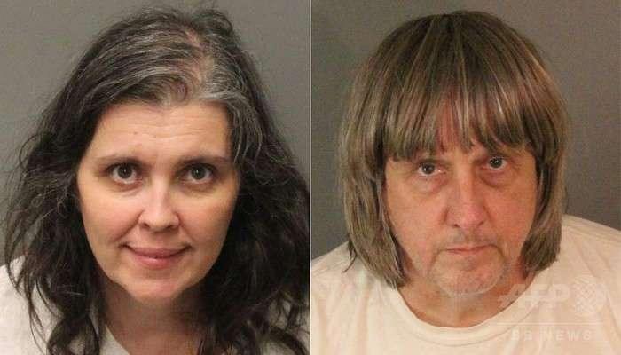 子供13人を監禁した両親の顔画像が怖すぎる【カリフォルニア】鎖でベッドにつながれ拷問されていた恐れも | ENDIA[エンディア]