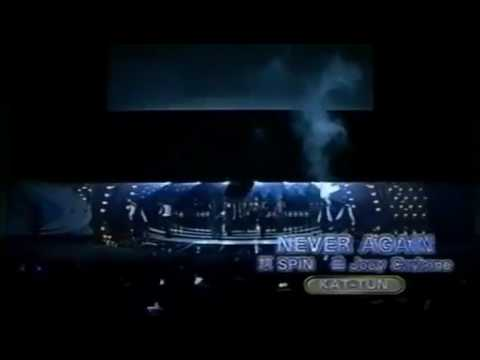 NEVER AGAIN / KAT-TUN - YouTube
